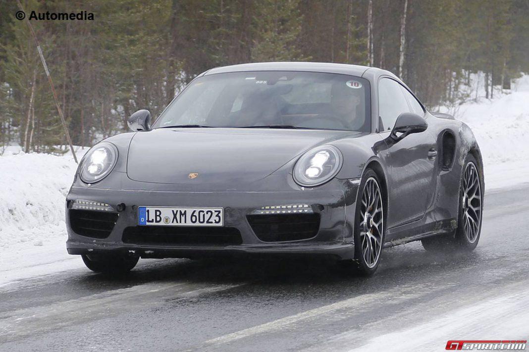 Fresh Porsche 911 Turbo Facelift Spy Shots Reveal Updated Interior