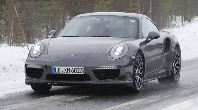 Fresh Porsche 911 Turbo Facelift Spy Shots Reveal Updated Interior