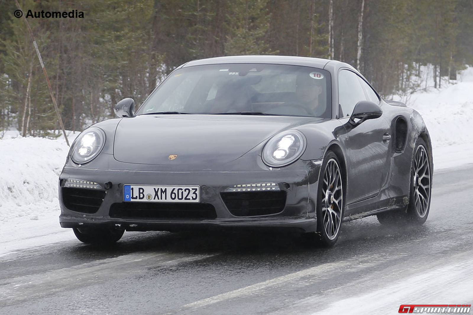 Fresh Porsche 911 Turbo S Facelift Spy Shots Reveal Updated Interior Gtspirit