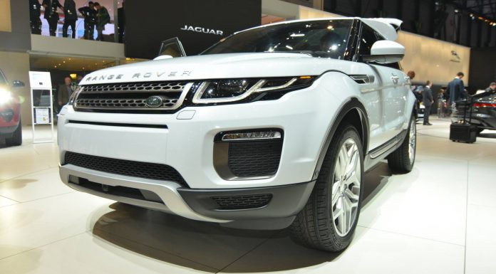 Range Rover Evoque at the Geneva Motor Show 2015