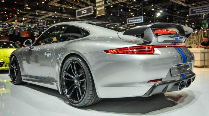 Techart 991 GTS at the Geneva Motor Show 2015
