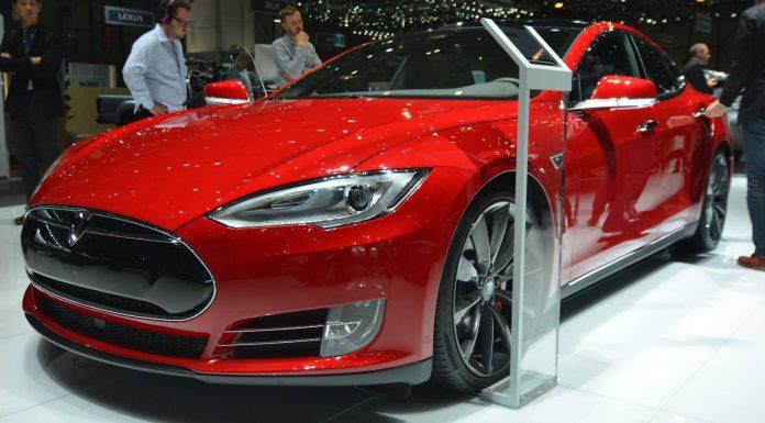 Geneva 2015: Tesla Model S P85D