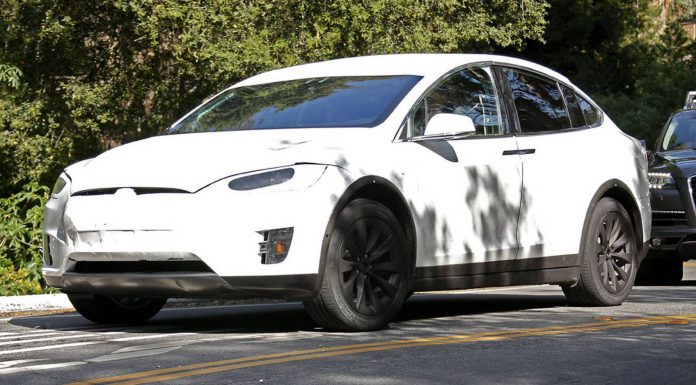 New Tesla Model X Spy Shots in Northern California