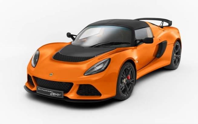 Official: 2015 Lotus Exige S Club Racer