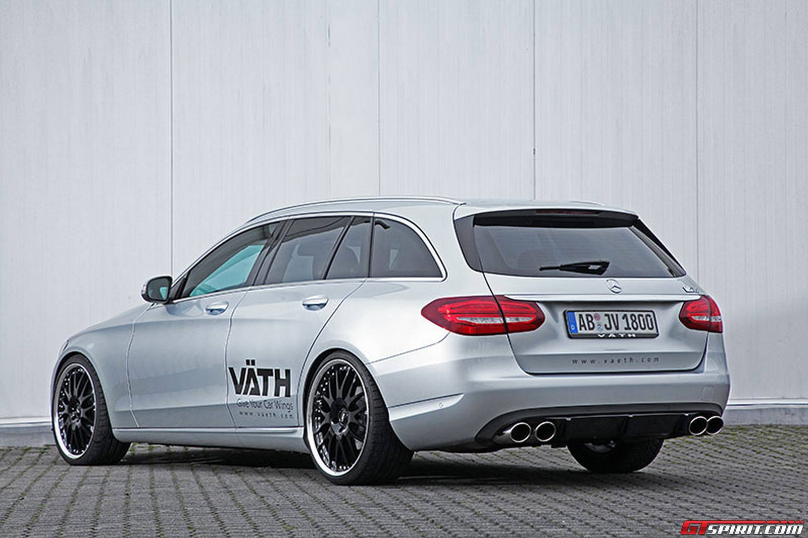 official vath mercedes benz c class estate gtspirit