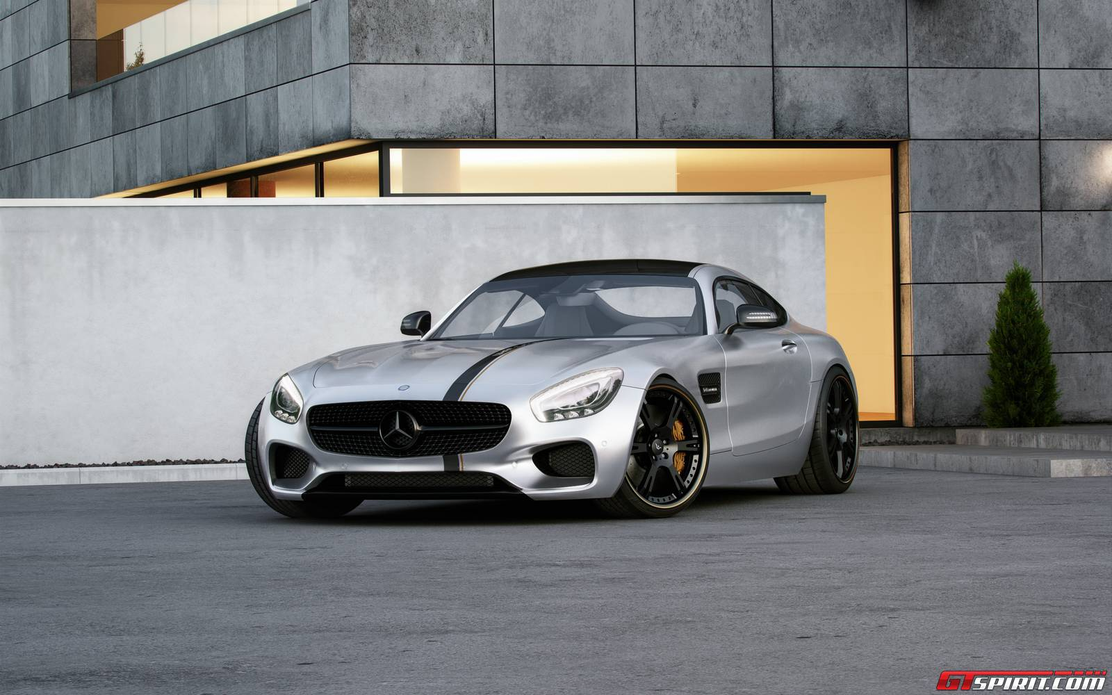 official 600hp mercedes amg gt by wheelsandmore gtspirit. Black Bedroom Furniture Sets. Home Design Ideas