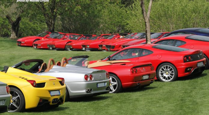 2015 Cars and Coffee Italy Gathers World's Best Supercars!
