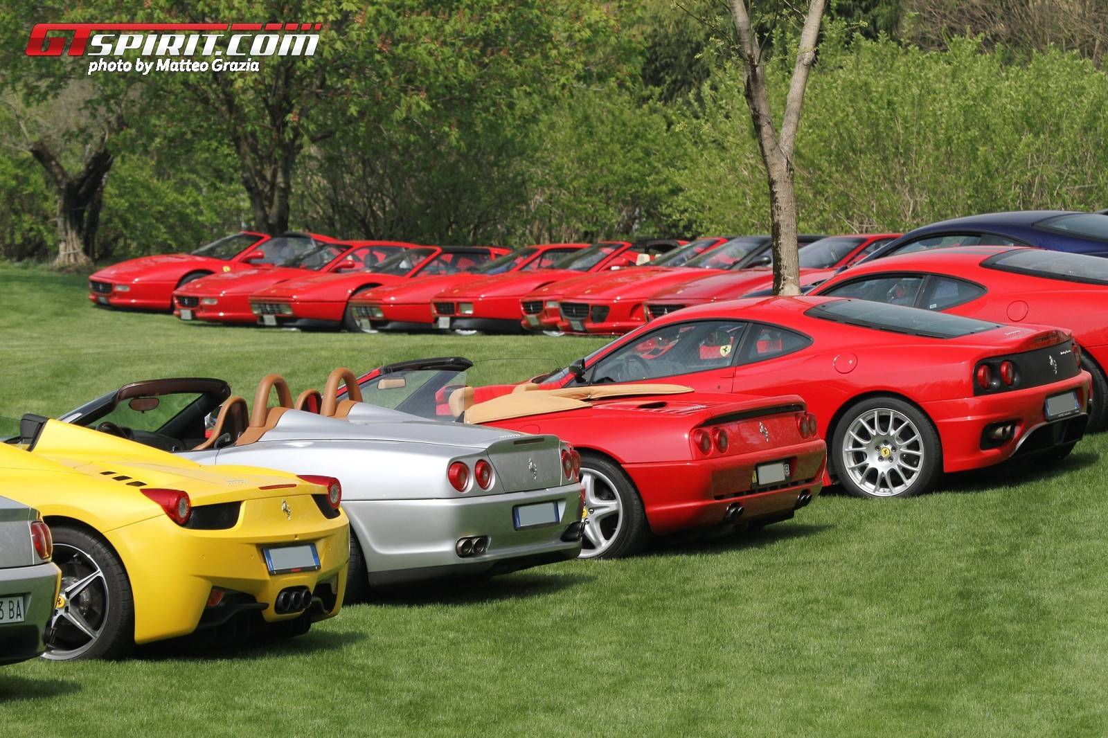 Italy Cars: 2015 Cars And Coffee Italy Gathers World's Best Supercars