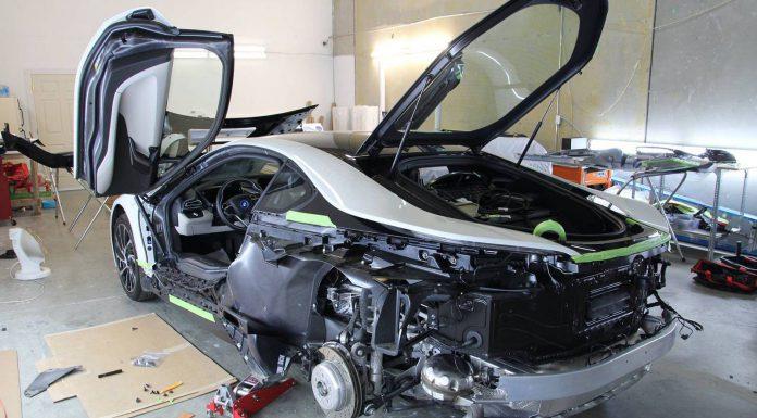 BMW i8 Work in Progress Wrap Photos