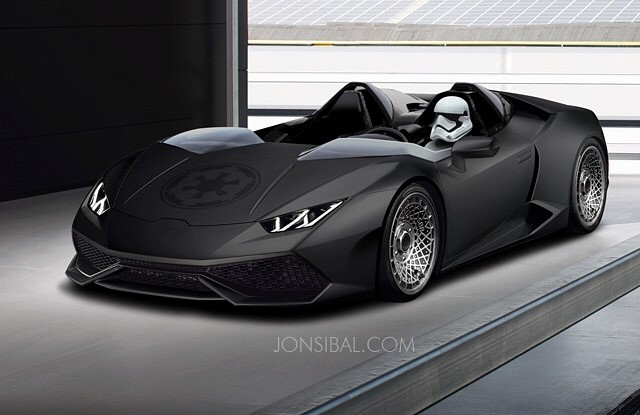 Lamborghini Huracan J Roadster Comes to Life