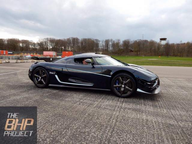 The BHP Project Koenigsegg One:1 Leaves Factory for the UK