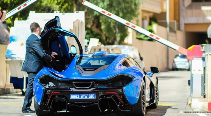 Lewis Hamilton Buys Blue McLaren P1