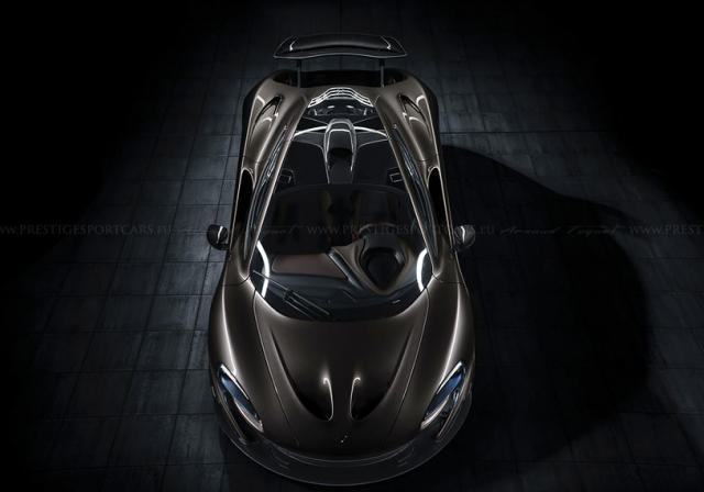 Photo of the Day: Breathtaking McLaren P1 Aerial Shot!