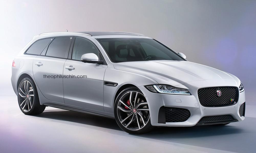 new jaguar xf sportbrake renderings gtspirit. Black Bedroom Furniture Sets. Home Design Ideas