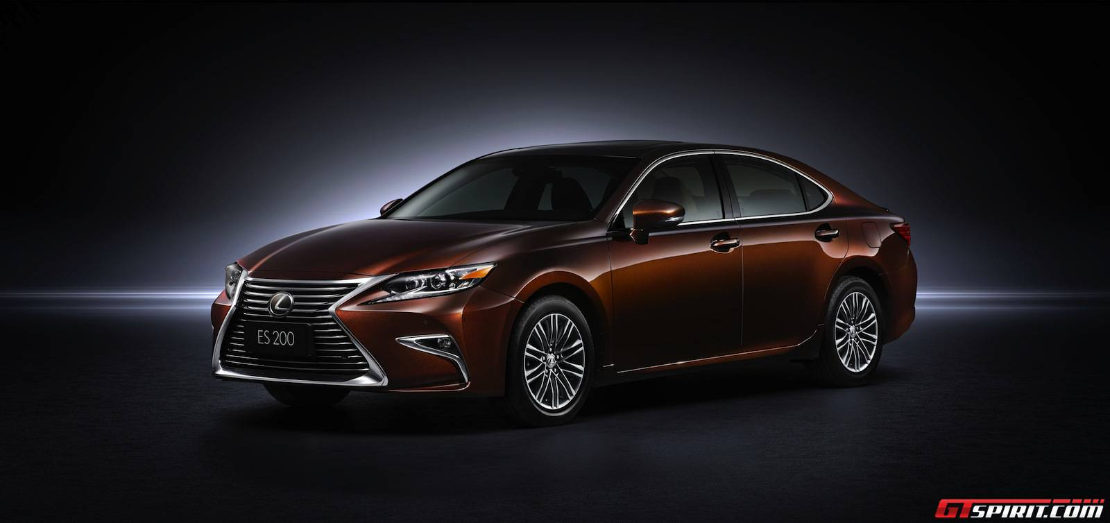 official 2016 lexus es gtspirit. Black Bedroom Furniture Sets. Home Design Ideas