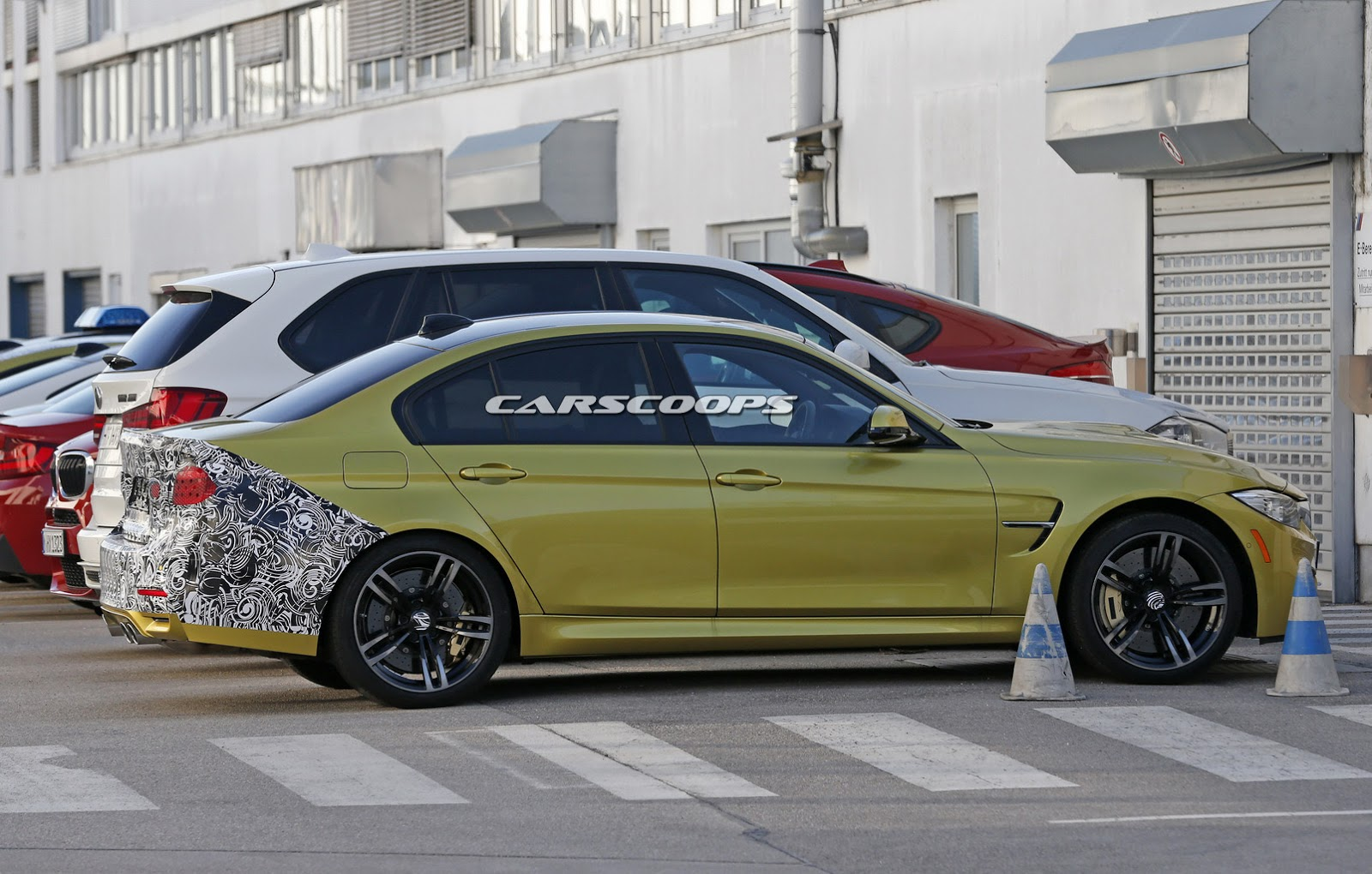 Facelifted Bmw M3 Sedan Spied Testing Gtspirit