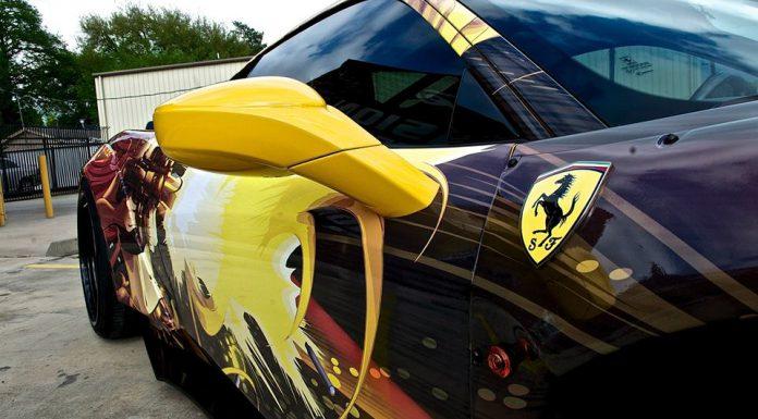 Gumball 3000 Ferrari 458 Italia