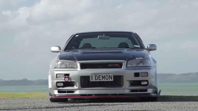 """Meet New Zealand's Finest Skyline GT-R - 1000hp """"Demon"""""""