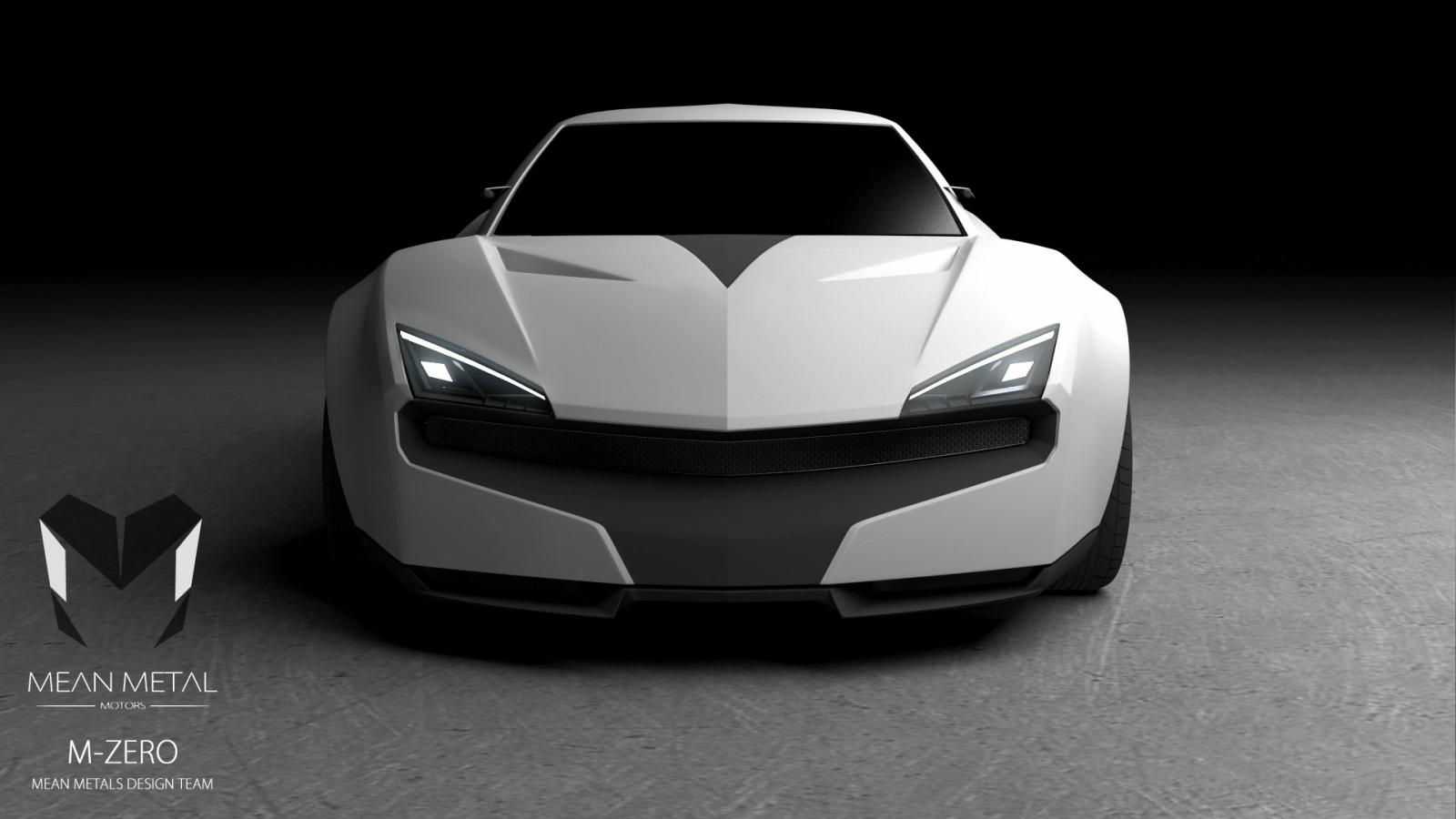 indian startup mean metal motors teases m zero supercar