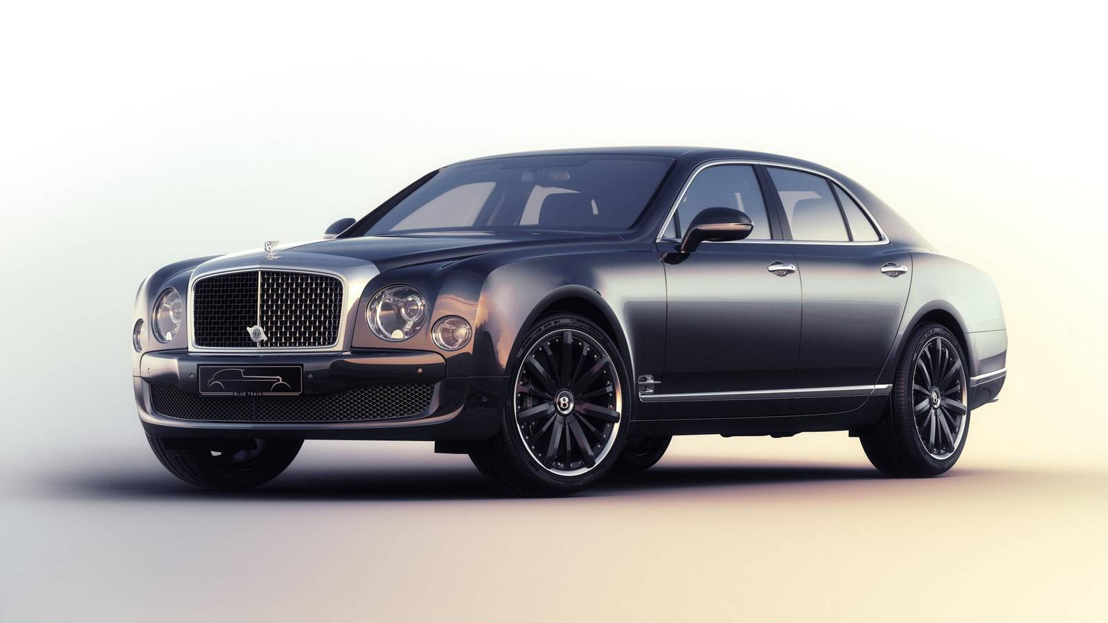 official 2016 bentley mulsanne speed blue train