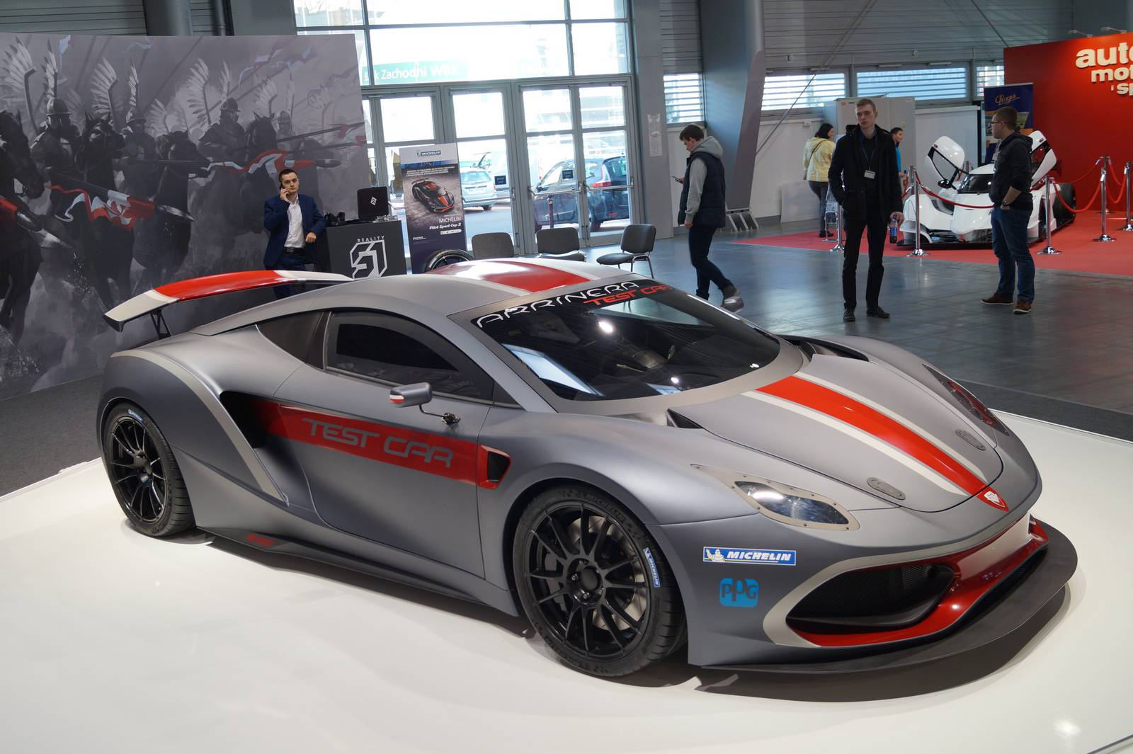 first polish supercar arrinera hussarya unveiled in poznan gtspirit. Black Bedroom Furniture Sets. Home Design Ideas
