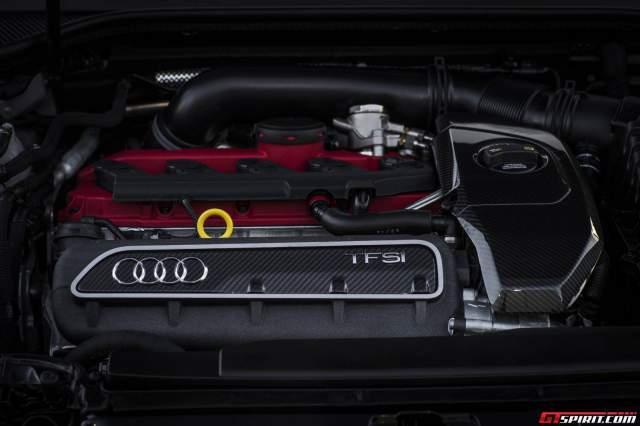 Audi RS3 Sportback 2.5 liter five cylinder TFSI