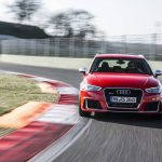 Audi RS3 Sportback Catalunya Red