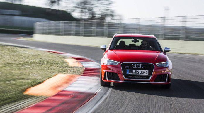 Audi RS3 Sportback Catalunya Red