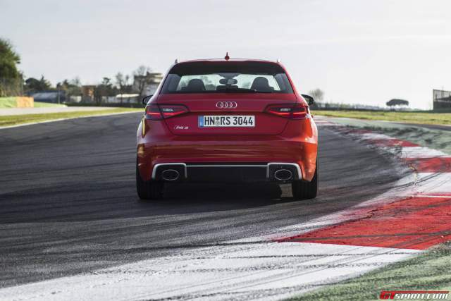 Audi RS3 Sportback Rear