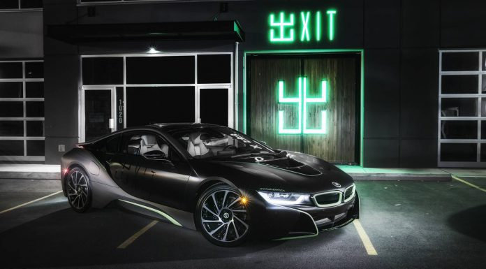 Photo of the Day: Wrapped BMW i8 Lurking in the Dark!