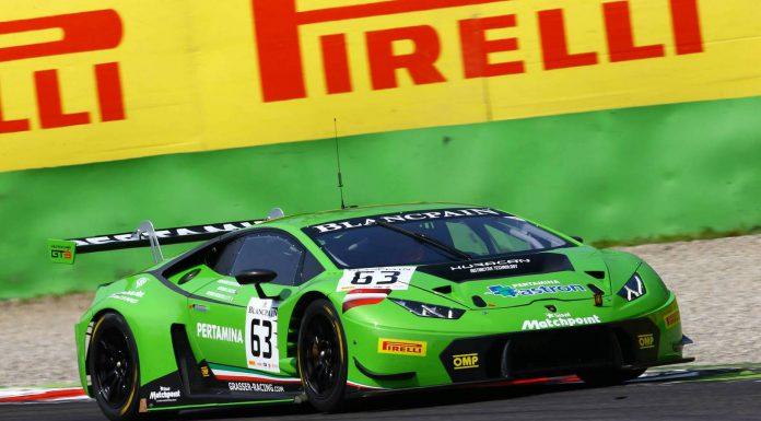 Blancpain GT: Lamborghini Huracan GT3 Wins Race Debut at Monza
