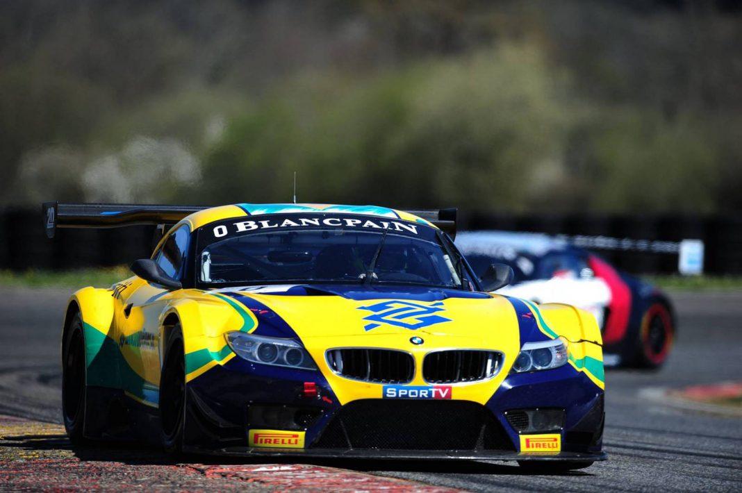Blancpain GT: BMW Team Brasil Wins Season Opener at Nogaro