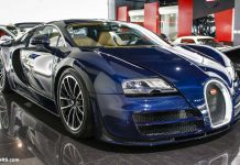 Unique Blue Carbon Bugatti Veyron Super Sport Sold in Dubai