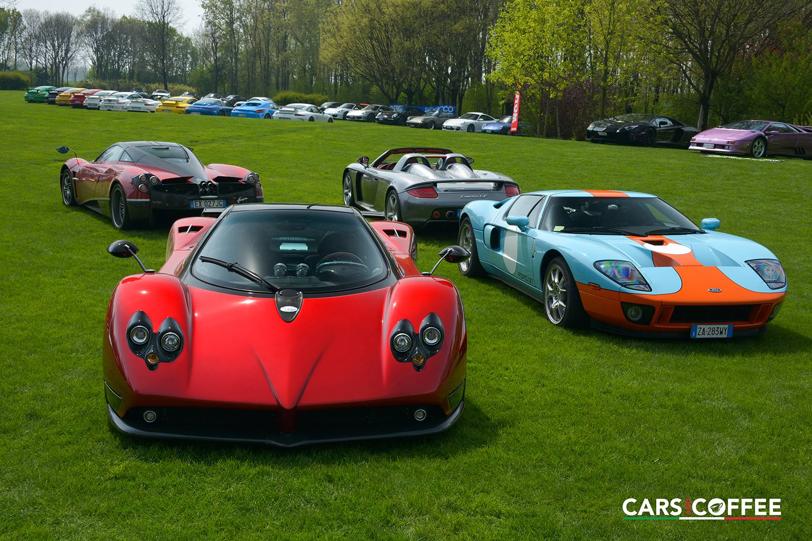 Italy Cars: 2015 Cars And Coffee Italy Part 1