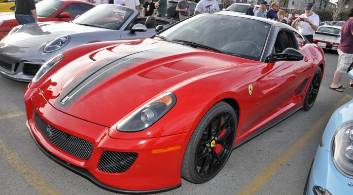 Euro Cars & Coffee Alberta Ferrari 599 GTO