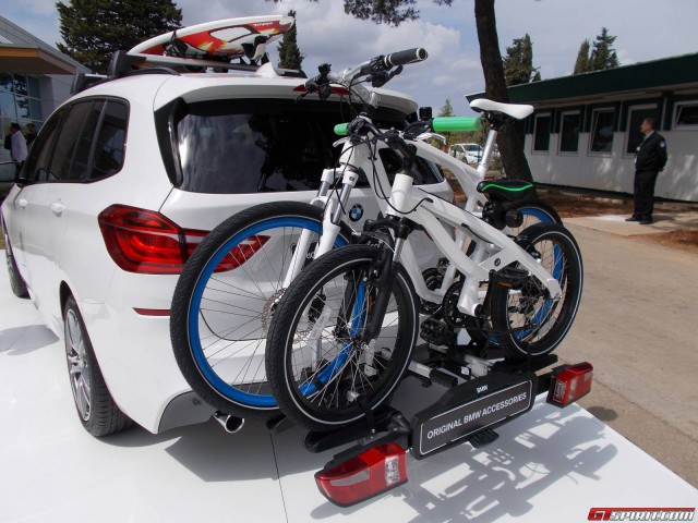 BMW 2 Series Gran Tourer cyclerack