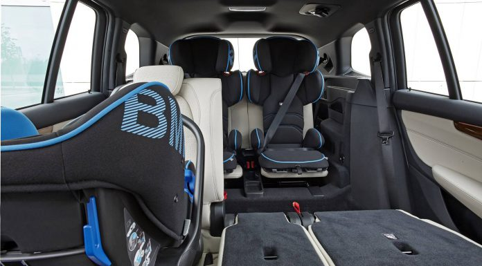 BMW 2 Series Gran Tourer childseats
