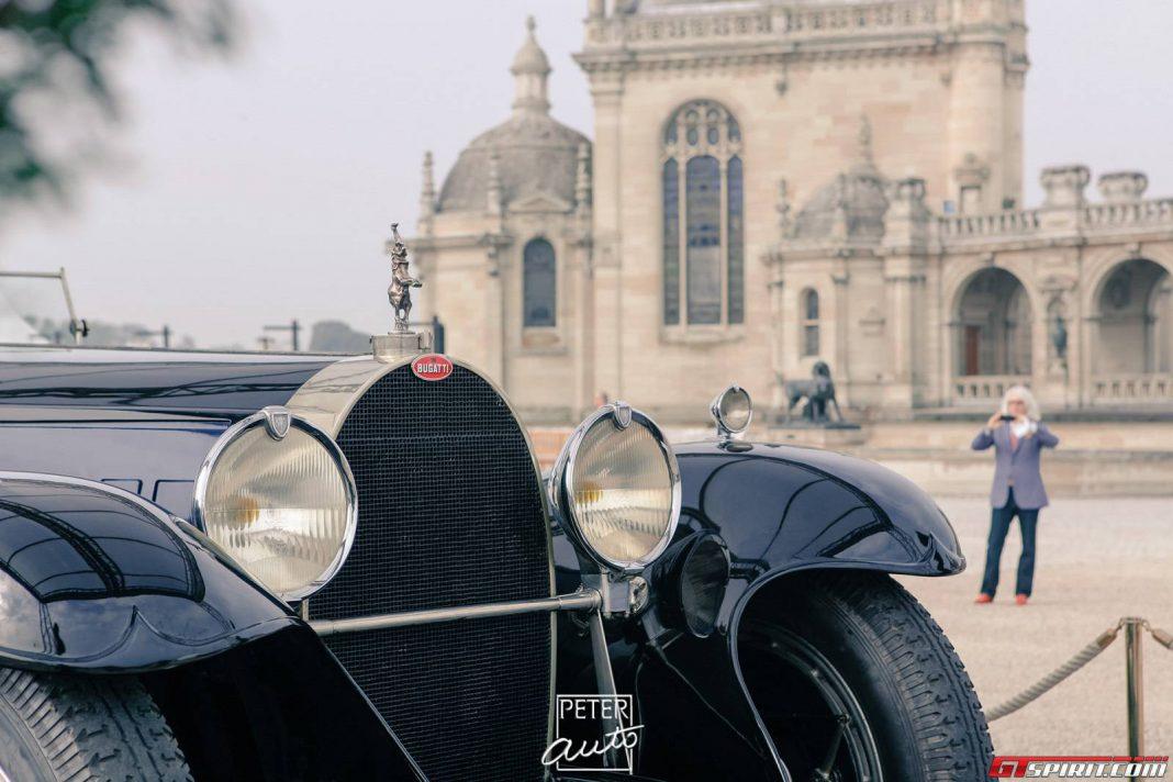 Bugatti at Chantilly