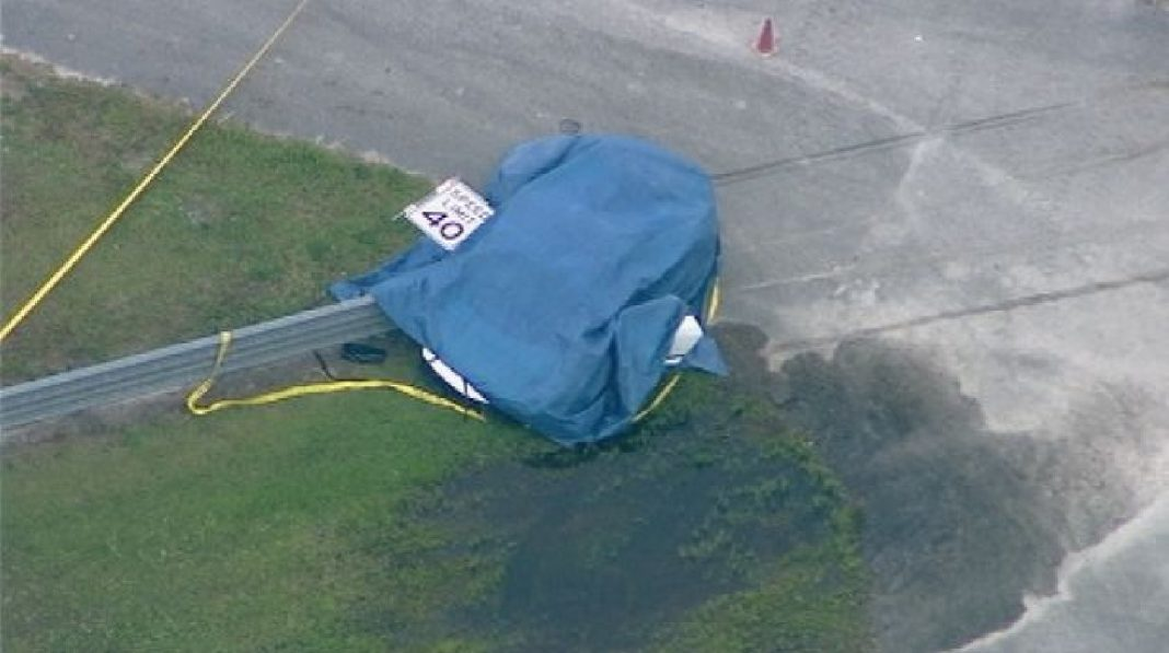 Disney Lamborghini fatality scene
