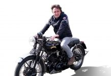 Richard Hammond on Vincent