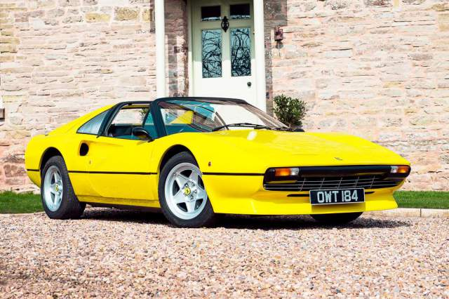 1978 Ferrari 308 GTS RHD Bound for Silverstone Auctions
