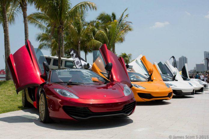 McLaren at Festivals of Speed Miami 2015
