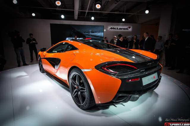 GTspirit McLaren 570S at New York 2015