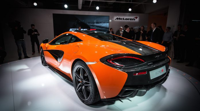 GTspirit McLaren 570S at New York 2015