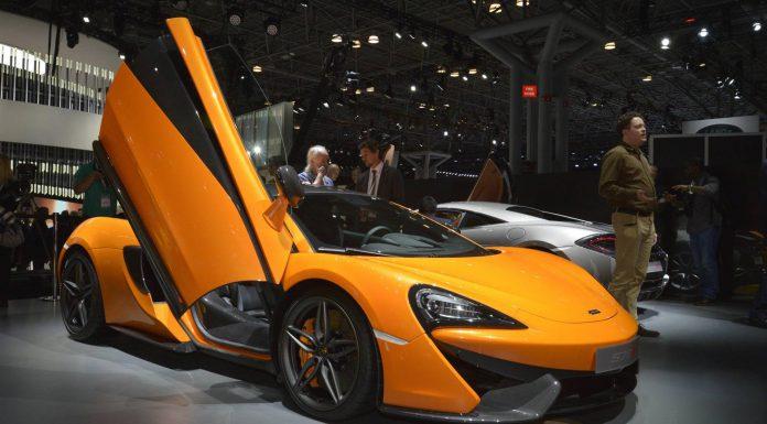 McLaren 570S New York Auto Show