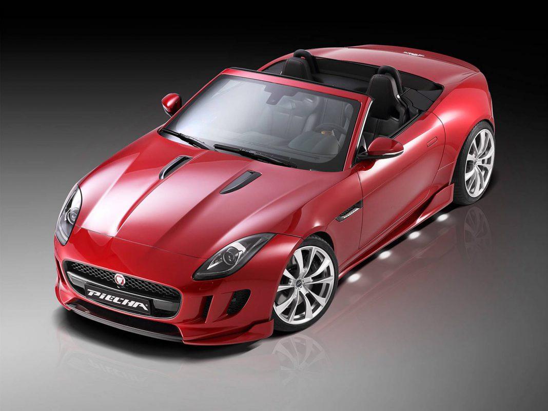 Official: Jaguar F-Type Roadster by Piecha Design