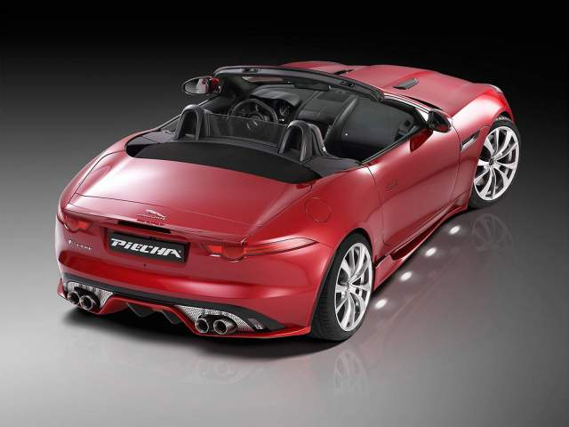 Jaguar F-Type Roadster Rear