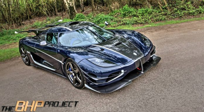 Blue Carbon Koenigsegg One:1 Photoshoot