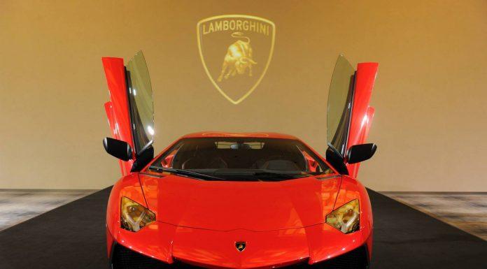 Lamborghini Aventador SV Makes Debut in Singapore