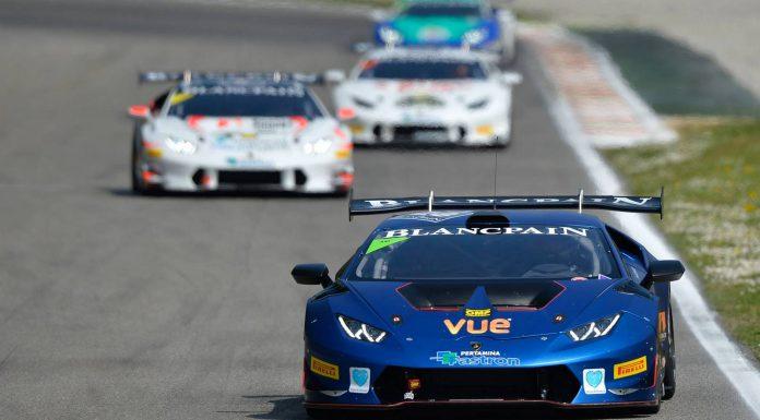 2015 Lamborghini Blancpain Super Trofeo